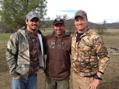 Clint Trickett -  a former American football quarterback, playing college football at Florida State and West Virginia has a fun time with a successful pig hunt.